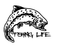 Fishing Life Decal