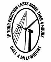 Call A Millwright Decal