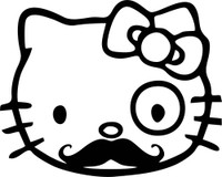 Hello Kitty Mystery Decal
