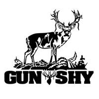 Buck Gun Shy Hunting Decal