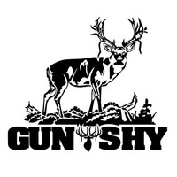 Buck Gun Shy Hunting Decal