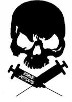 Zombie Antidote Skull Decal