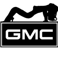 GMC Sexy Girl Decal 1