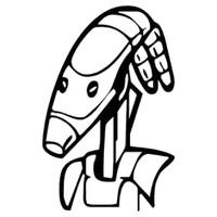 Star Wars Battle Droid Decal