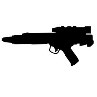 Star Wars Blaster Decal
