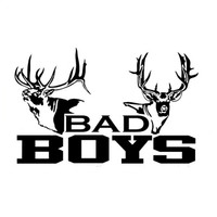 Bad Boys Buck Hunting Decal
