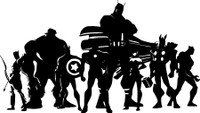 Avengers Superheroes Decal