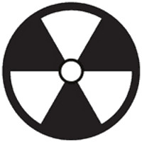 Zombie Nuclear Symbol Decal