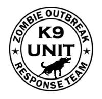 Zombie Outbreak Response Team K9 Unit Decal #1