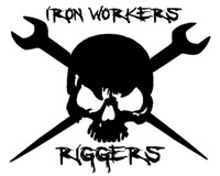 Ironworkers Rigger Skull Decal