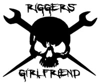 Riggers Girlfriend Skull Decal