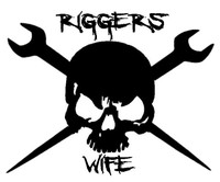 Riggers Wife Skull Decal