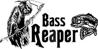 Bass Reaper Fishing Decal