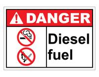 ANSI Danger Diesel Fuel