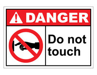 ANSI Danger Do Not Touch