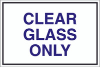 Clear Glass Only