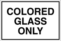 Colored Glass Only