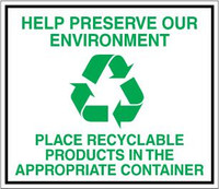 Help Preserve Our Environment