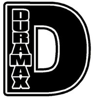 "Duramax ""D"" Decal"