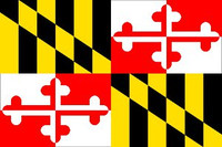 Maryland State Flag Decal