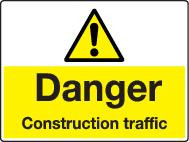 Danger Construction Traffic
