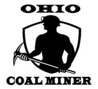 Ohio Coal Miner Decal