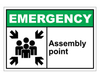 ANSI Emergency Assembly Point