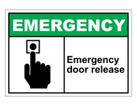 ANSI Emergency Door Release