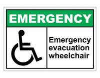 ANSI Emergency Evacuation Wheelchair