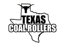 Texas Coal Rollers Star Decal