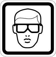 Must Wear Eye Protection