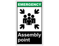ANSI Emergency Assembly Point 1