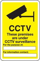 CCTV These Premises Are Under CCTV Surveillance