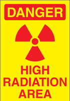 Danger High Radiation Area