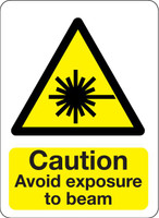 Caution Avoid Exposure To Beam