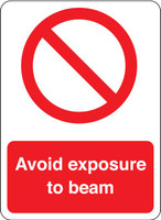 Avoid Exposure To Beam