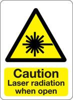 Caution Laser Radiation When Open