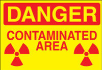 Danger Contaminated Area