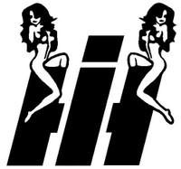 International Harvester Sexy Girls Decal