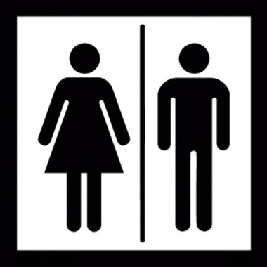 men and women restroom sign image 1