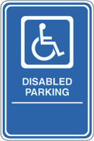 Handicap And Disabled Parking