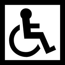 Disabled Symbol (Black and White)  Disabled Symbol...