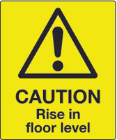 Caution Rise In Floor Level