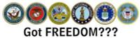 Got Freedom - Bumper Sticker