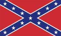 Confederate Flag Sticker