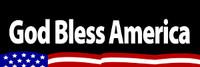 God Bless America - Bumper Sticker