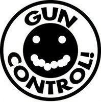 Gun Control Shot Group Decal