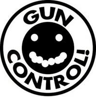 Gun Control Shot Group Decal