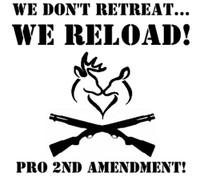 Gun Control We Don't Retreat Decal