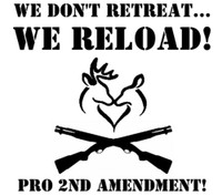 Gun Control We Don't Retreat Decal